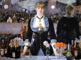 Bar at Folies Bergere - Manet
