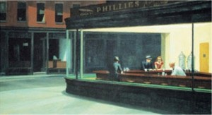 Nighthawks -Edward Hopper