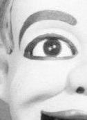 Ventriloquist's dummy's eye